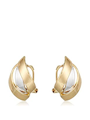 Gold & Diamonds Orecchini oro bicolore 18 Kt