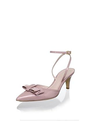 Delman Women's Lyla Pump (Powder Pink Patent)