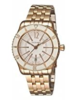 Azzaro Coastline White Dial Rose Gold Tone Stainless Steel Mens Watch Az2200.52Am.05A