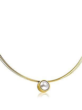 Steel Art Halskette Coma goldfarben