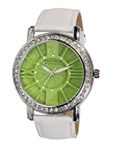 Exotica Fashions Ladies Watch - EF-70 -Green-White