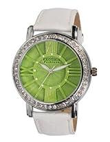 Exotica Fashions Ladies Watch - EF-70 -Green-White