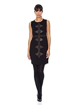 Cortefiel Vestido Tachas (Negro)
