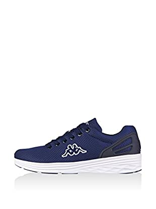Kappa Unisex-Erwachsene Trust Sneakers, Blau (6710 Navy/White), 36 EU
