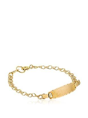 Silver One Armband  18 Karat Gold