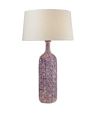 Artistic Lighting Table Lamp, Purple/White Wash