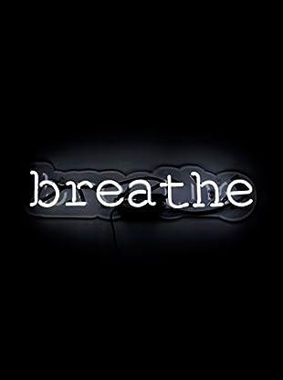 Oliver Gal Breathe Neon Sign, Multi