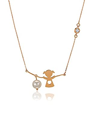 Divas Diamond Collar Diamond Pearl Diamond Girl Dorado