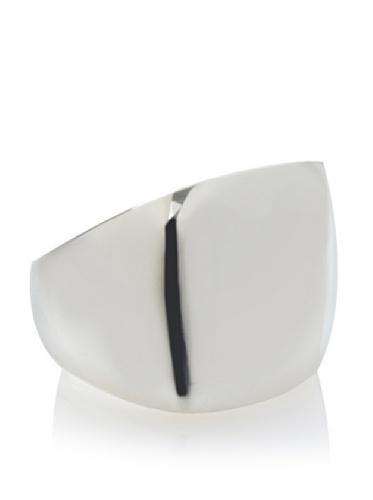 Argento Vivo Silver Square Top Chunk Ring
