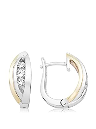 Miore Ohrringe E7750Y vergoldetes Silber 925