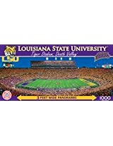 Masterpieces Ncaa Louisiana State University Tiger Stadium Panoramic Jigsaw Puzzle (1000 Piece)