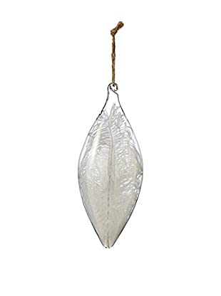 Sage & Co. Glass Feather Quill Ornament