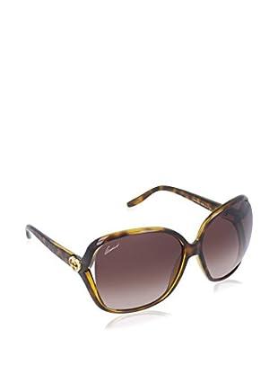 Gucci Sonnenbrille 3500/S J6 791 (60 mm) havanna DE 60-14-120 (60-14-120)