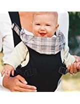 Infantino Cozy Rider Carrier Pattern: Black Twill/Plaid By Infantino