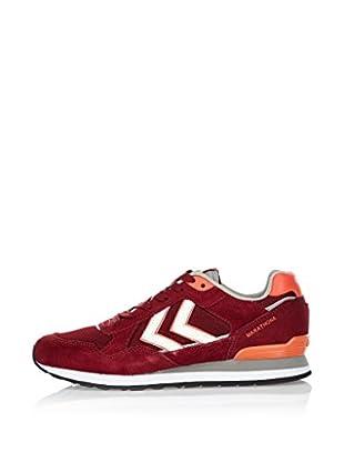 Hummel Sneaker Marathona Low (weinrot)