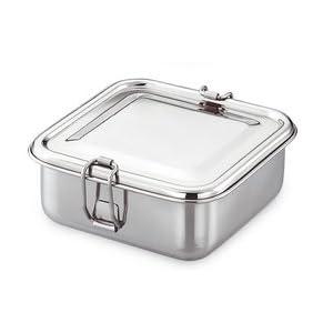 JVL Big Square Lunch Box