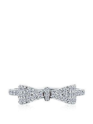 Diamond Style Bow Ring (Large)