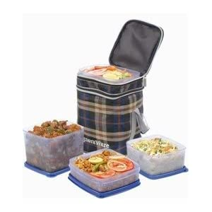 Signoraware Director Special Lunch Box-Brown
