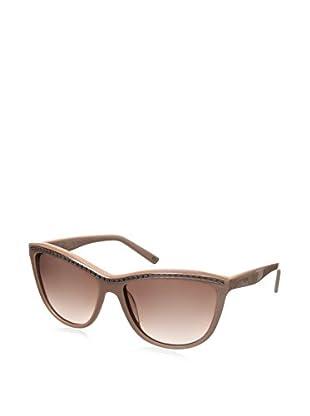 Escada Women's SES315 Sunglasses, Shiny Rose Pearled