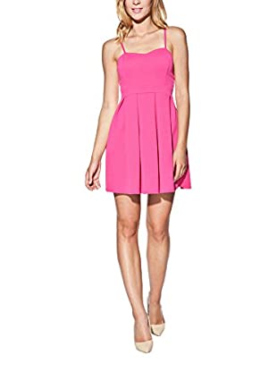 Candy Kleid Strapless Pleated Mini