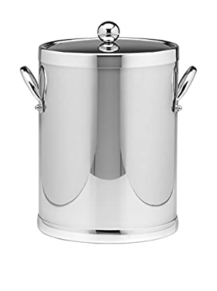 Kraftware Polished Chrome 5-Qt. Double Handled Ice Bucket