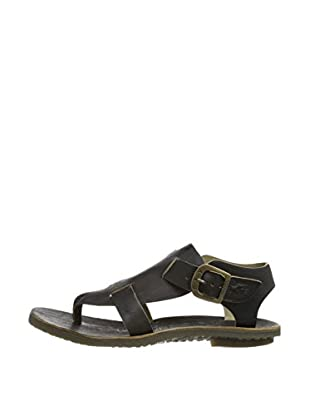 Fly London Sandalias Bany Thong (Negro)