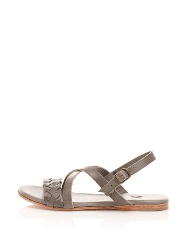 Fiel Women's Ankle Strap Sandal (Grey)