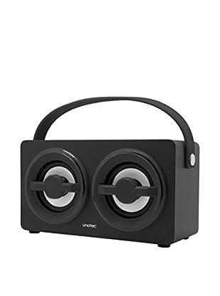 ZZ-UNOTEC Altavoz Bluetooth Xkutcher Negro