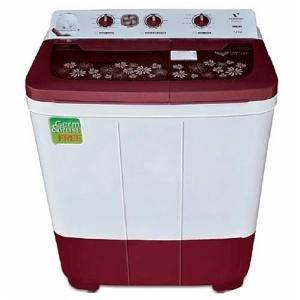 Videocon 7.2 Kg Niwa 7.2KG Top Loading Semi-Automatic Washing Machine-Dark Maroon