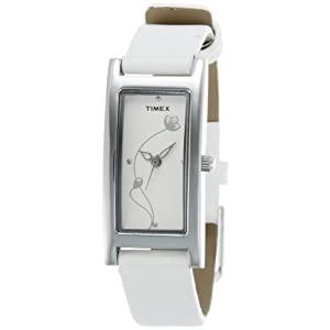 Timex J602 Analog Women's Watch-White