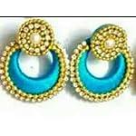 Blue chand bli Fashion Earring