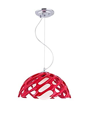 Light UP Pendelleuchte Evenos rot