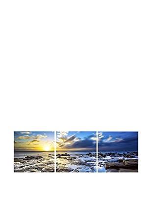 LO+DEMODA Leinwandbild 3 tlg. Set Moved See