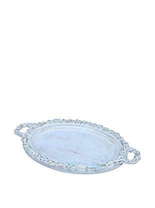 Blue Decorative Tray