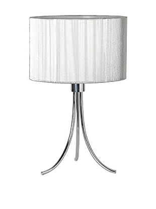 Lámpara De Mesa Ego Plata