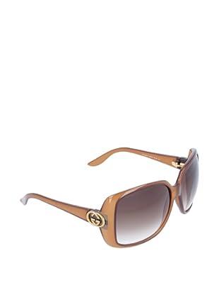 Gucci Damen Sonnenbrille GG 3166/S hellbraun