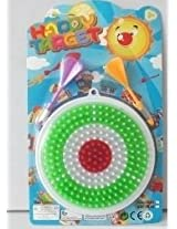smiles creation Colored Plastic Dart Board with 2 Darts