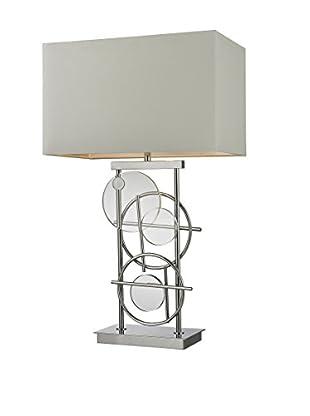 Artistic Lighting Table Lamp, Chrome/Clear Crystal