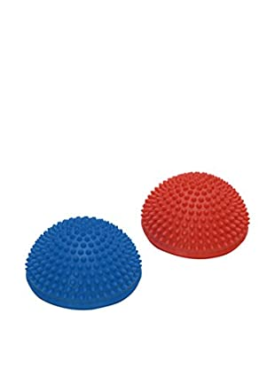 Sissel Attrezzo Fitness Spiky Dome Set x2 Blu/Rosso