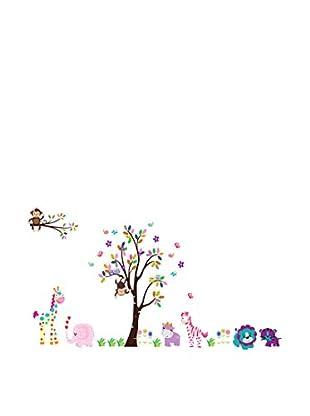 LO+DEMODA Vinilo Decorativo Mini Diver Zoo