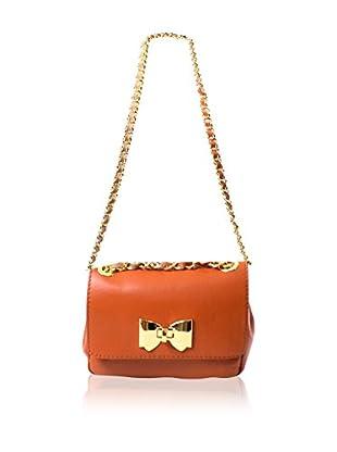 Carla Belotti Bandolera Handbag Light Brown Celestina