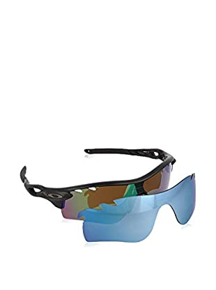 Oakley Occhiali da sole Polarized Mod. 9181 918153 (130 mm) Nero