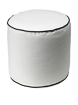 13 Casa Pouf Bicolor A3 weiß