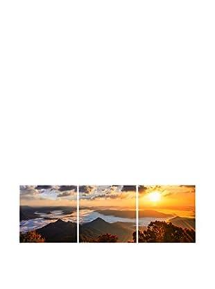 LO+DEMODA Leinwandbild 3 tlg. Set Belo Sun