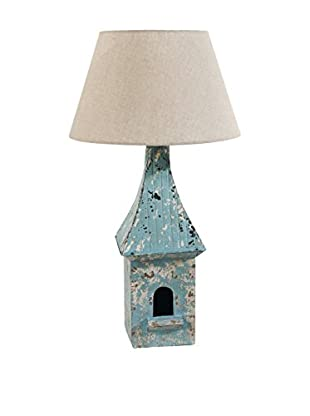 Table Lamp, Blue