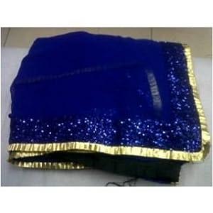 Wespro Deepika Badtameez Bollywood Saree-Blue