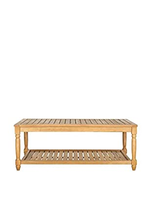 Safavieh Oakley Coffee Table, Teak Brown