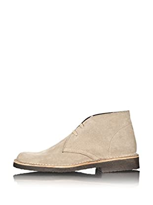 British Passport Zapatos Botín (Beige)