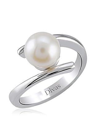 Divas Diamond Anillo Perla (Plata)