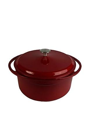 Artland La Maison 7.4-Qt. Round Covered Casserole, Crimson
